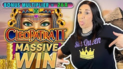 💰 CLEOPATRA 2 💰 MASSIVE WIN 💵 MASSIVE RUN ✨RETRIGGER BABY 🌟