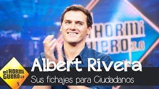 Albert Rivera justifica sus polémicos fichajes - El Hormiguero 3.0