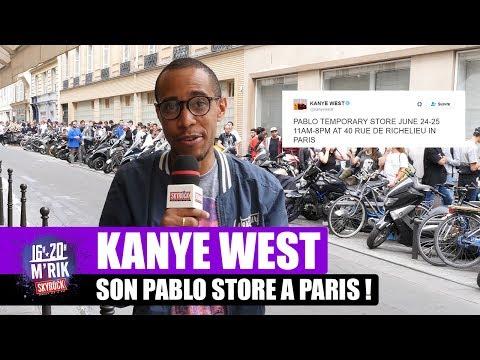 Kanye West : Son Pablo Store à Paris avec Mrik [Skyrock]
