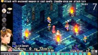 PSP Playthrough: Tactics Ogre- Let Us Cling Together ~Chapter 3: Lawful~ Part 24