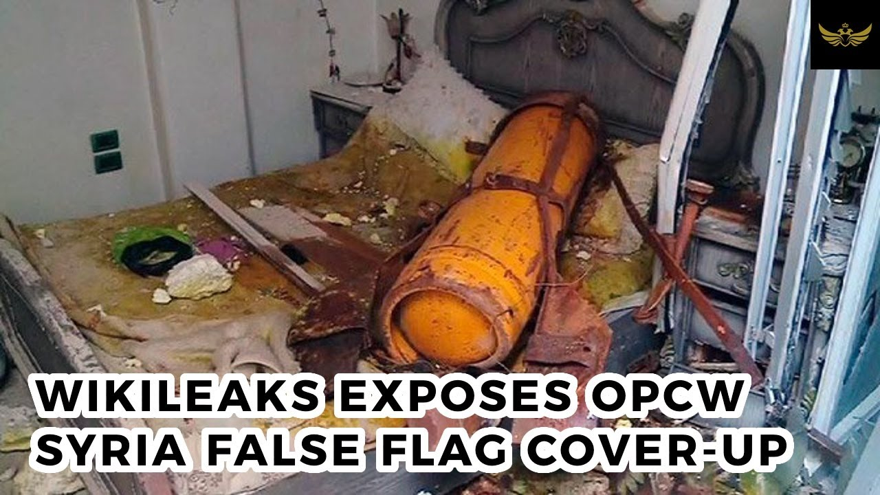 Wikileaks releases OPCW e-mail exchange exposing Syria false flag cover-up