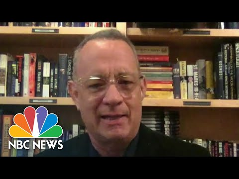 Tom Hanks On Coronavirus Pandemic: 'There Is A Part That We Can All Play' | NBC Nightly News