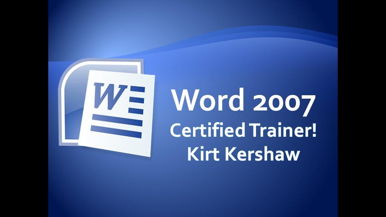 Word 2007: Custom Dictionary