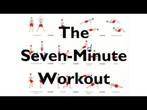 the scientific 7 minute workout from the new york times youtube. Black Bedroom Furniture Sets. Home Design Ideas