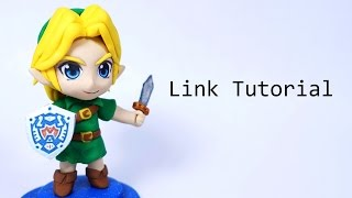 Legend of Zelda- How to Make a Chibi Link Polymer Clay Tutorial