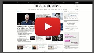 Learn Business English with The Wall Street Journal and Newsmart
