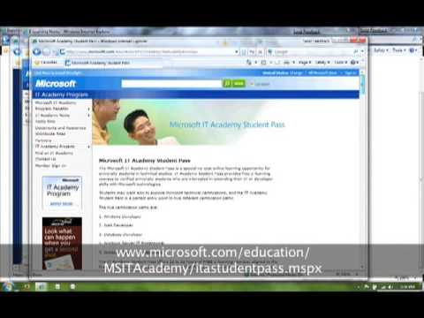 Free Microsoft training and certification exams