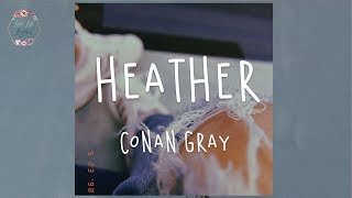Download Lagu Conan Gray Heather Lyric Video  MP3