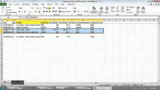 Excel to Sage   Import from Excel to sage