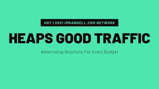 Heaps Good Traffic Coop Paid To Click & Downline Builder