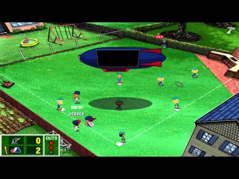 backyard baseball 2001 episode 2 home opener youtube