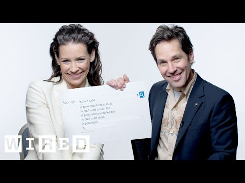 'AntMan and the Wasp' Cast Answer the Web's Most Searched Questions | WIRED