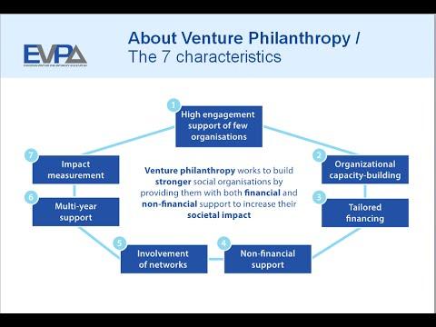 What is Venture Philanthropy explained by Ferd Social Entrepreneurs