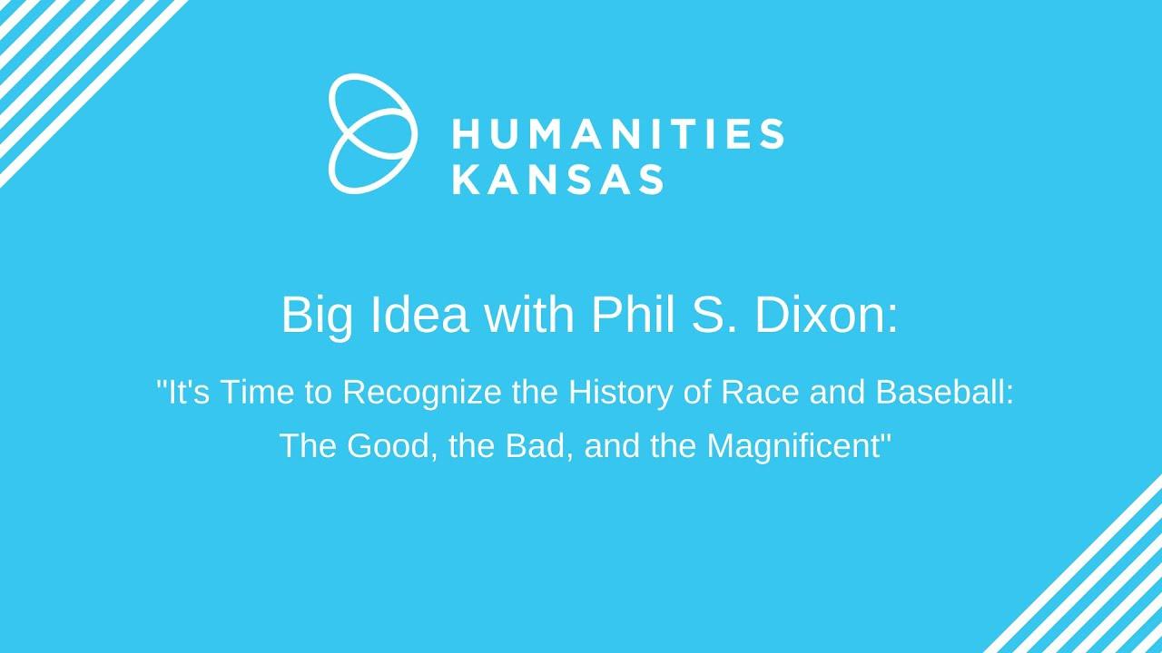 Phil Dixon Big Idea essay