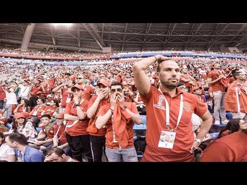 Match day Morocco Iran للأسف خسرنا ضد إيران ولكن مامفكينش | Vlog 5 world cup trip 2018