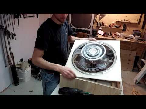 Homemade Shop air filter