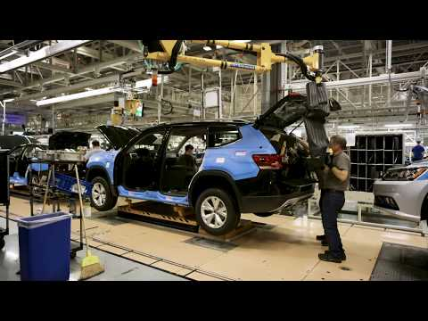 Volkswagen Atlas - Manufacturing Plant Presentation in Chattanooga, Tennessee