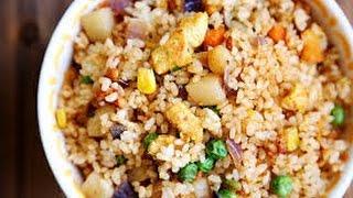 Vegan Fried Rice Recipe Yummy HCLF