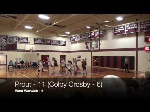 The Prout School vs West Warwick High School