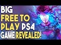 NEW PS4 FREE TO PLAY Game Revealed! 3 NEW PS4 Games!