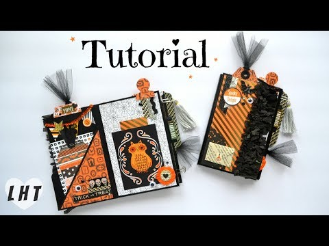 File Folder Mini Album Tutorial - Little Hot Tamale - Diy FIle Folder Flipbook