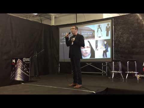 Alain Migneault, fondateur de Weroes à la conférence M-Style (Vivez l'innovation)