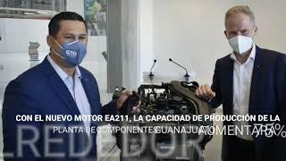 Volkswagen producirá nuevo motor en su planta de Silao, Guanajuato