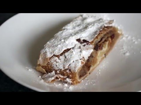 How to make an authentic Austrian Apfelstrudel - Cooking Tutorial