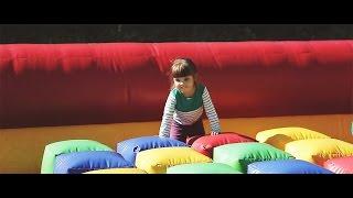 Смотреть видео Выходные в Этномире. Батут. Этномир для детей. Куда сходить с детьми в Москве. онлайн