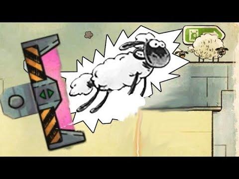 3 овечки в космосе #2 - Жаренные овечки. Мультик игра для детей. Приключения трех овечек