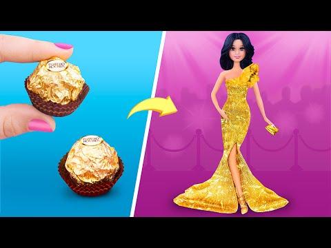 25 лайфхаков и поделок для кукол Барби