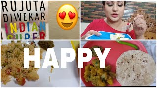 I tried Rujuta Diwekar's diet for a week/ Results and What I eat in a Day/ Day-1