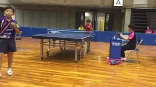 【おまけ】祝!東アジアホープス大会 卓球日本代表!まっくすむらいさんサプライズ企画 左治木文音(小学三年生)富山県で行われた卓球大会に長野県代表として出場。