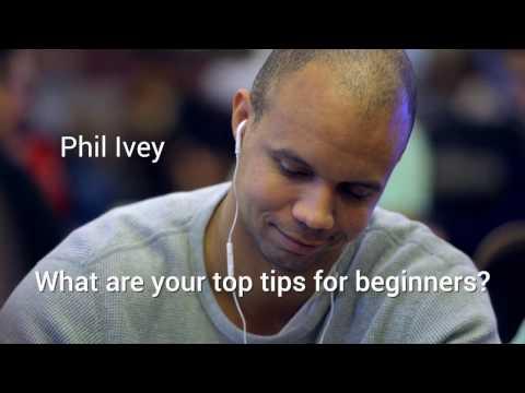 Beginners' poker tips from Phil Ivey, Dan Cates and Dan Colman - Paul Phua Poker