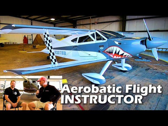 Aerobatic Flight Instructor - Corporate Pilot - Mike Mathews