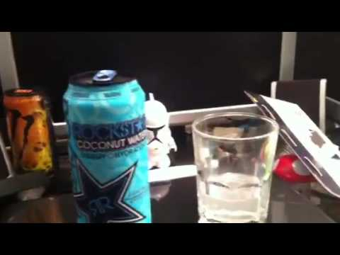 Chocolate muscle monster info+Rockstar Coconut water review