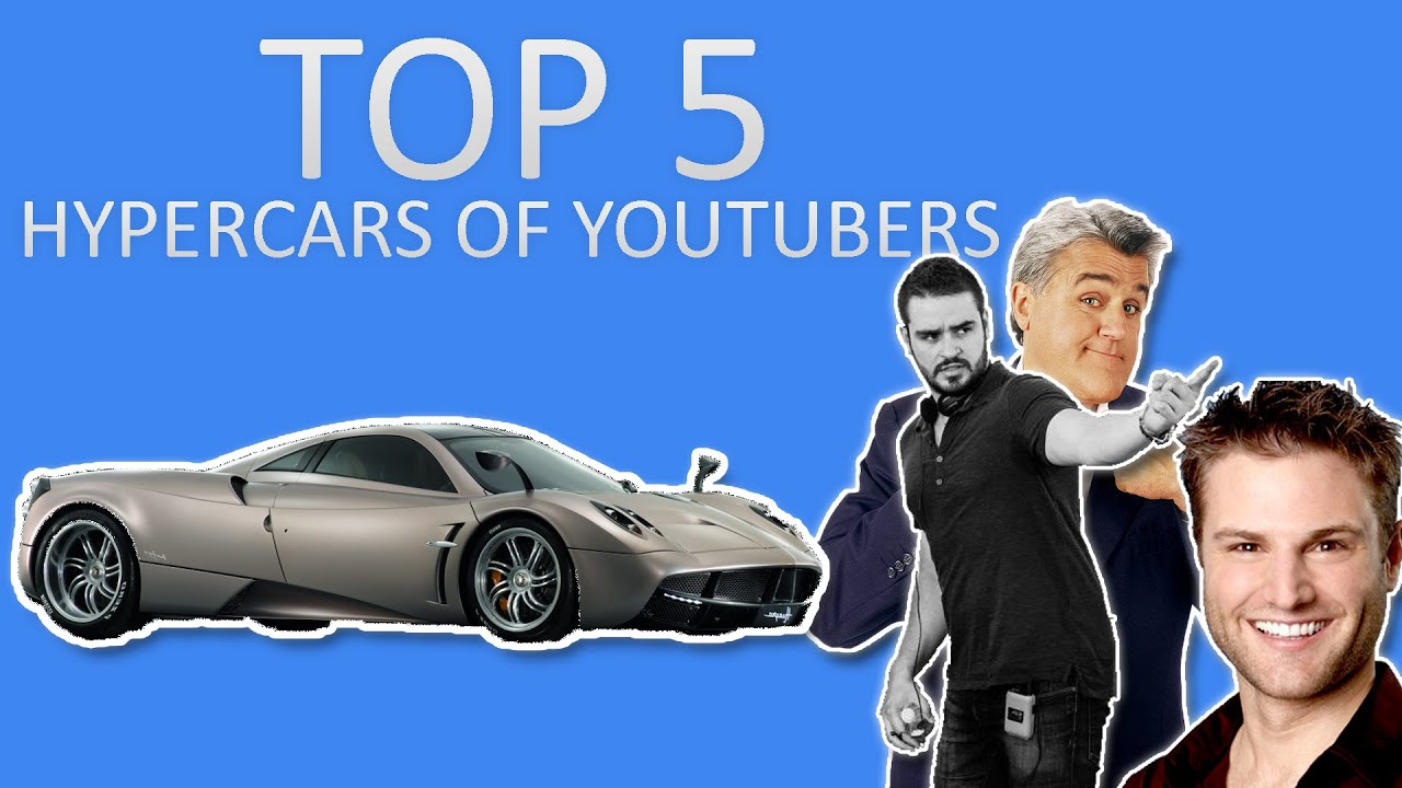 Top Hypercars Of Youtubers Youtube