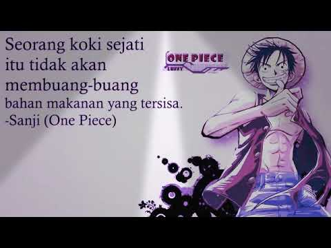 49 Kata Kata Bijak Anime One Piece Youtube
