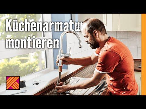 Kuchenarmatur Montieren Hornbach Meisterschmiede Youtube