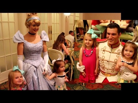 Cinderella's Happily Ever After Dinner Disney World Grand Floridian Character Dinner IRL
