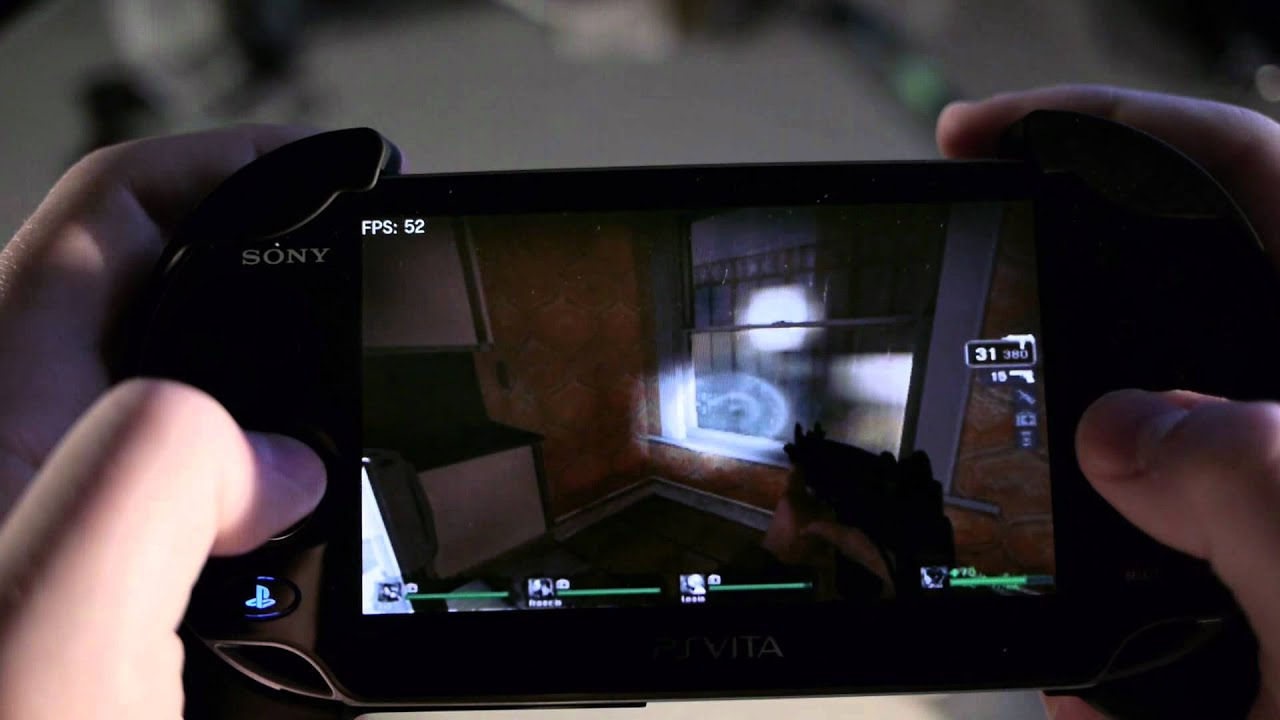 Playstation Vita Left 4 Dead 1080p Hd Vitaremoteclient Youtube