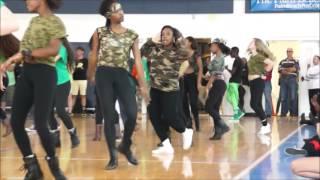 Dreyfoos Sophomore Pep Rally Dance 2014