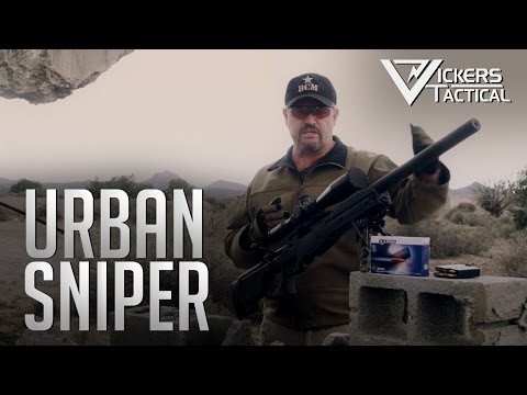 URBAN SNIPER - Accuracy International .308 AW COVERT