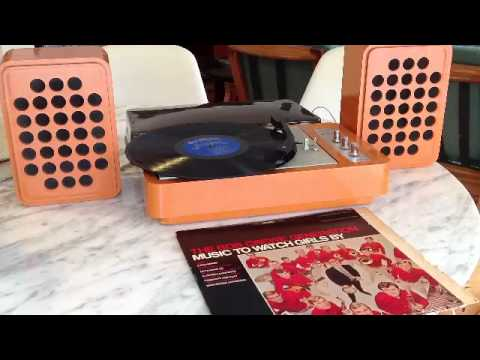vintage sixties lp record player for sale hip retro groovy youtube. Black Bedroom Furniture Sets. Home Design Ideas