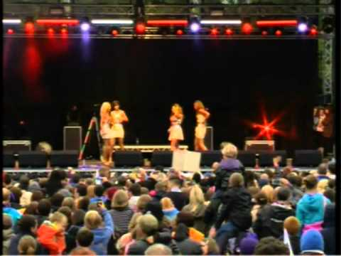 The Saturdays  Stoke 2012 Live - EXCLUSIVE video