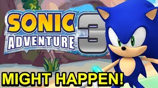 "Takashi Iizuka says Sonic Adventure 3 ""MIGHT"" HAPPEN! - NewSuperChris"