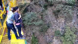 Bungee Jumping @ Rishikesh