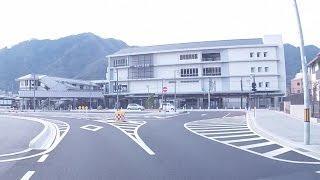 高梁警察署からツタヤ図書館までの道程 岡山県 20170304