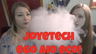 JoyeTech eGo AIO ECO Starter Kit Review ft. My Sister! | TiaVapes Review