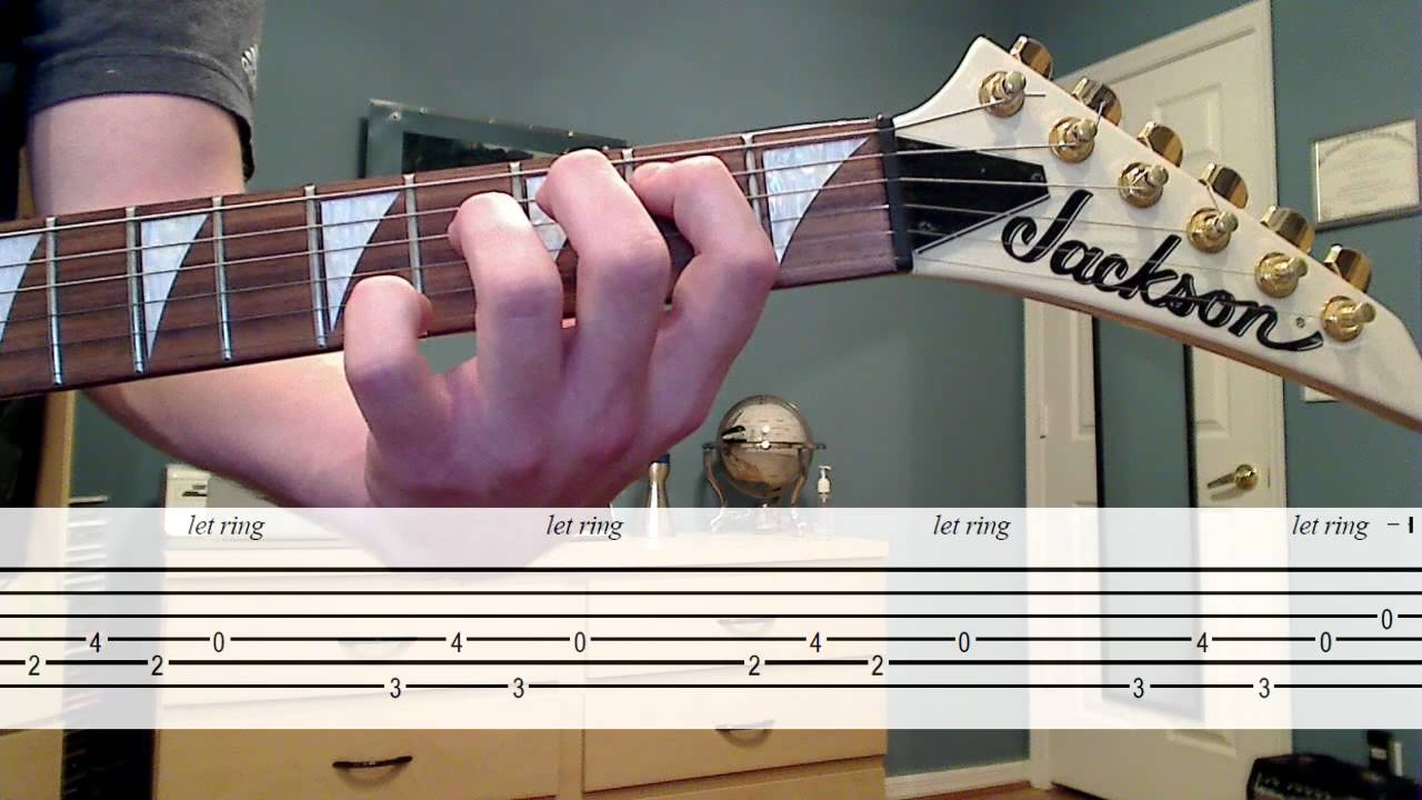 One Introsolo 1 2 Lesson Cover W Tab Youtube